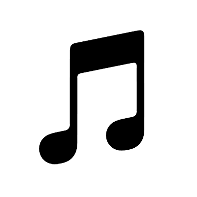 Apple monochrome black