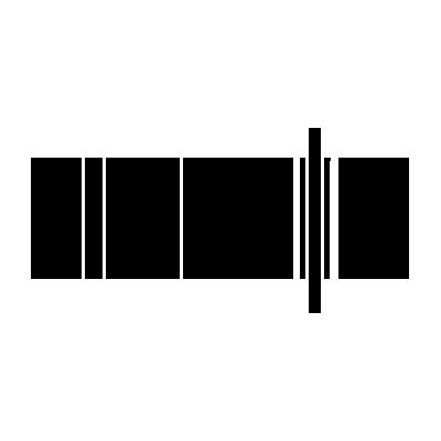 Stitcher monochrome black